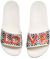 Crocs Drew x Sloane Chevron Slide Women's Shoes