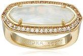 Kendra Scott Arielle Gold Ivory Ring, Size 7