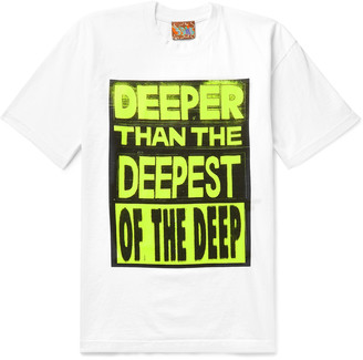 Come Tees Logo-Print Cotton-Jersey T-Shirt
