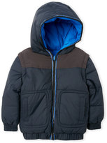 Little Marc Jacobs Toddler Boys) Hooded Reversible Jacket
