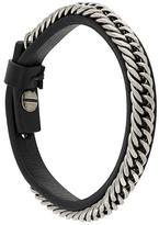 Givenchy braided chain bracelet
