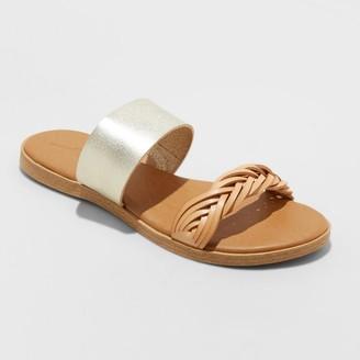 Universal Thread Women's Torri Band Braided Slide Sandals - Universal ThreadTM