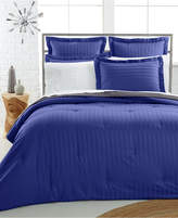 Charter Club CLOSEOUT! Damask 500 Thread Count Pima Cotton Reversible Comforter, Created for Macy's