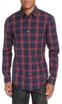 BOSS 'Ronni' Slim Fit Buffalo Check Sport Shirt