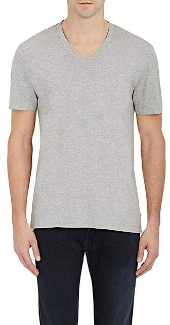 James Perse Men's V-Neck T-Shirt - Light Gray