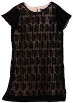 Trixxi Pleated Lace Dress (Big Girls)