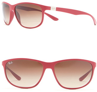 Ray-Ban 61mm Wrap Sunglasses