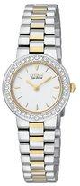 Citizen Women's EW9824-53A Eco-Drive Silhouette Crystal Two-Tone Watch