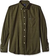 Façonnable Men's Club Fit Light Thin Corduroy Woven