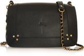 Jerome Dreyfuss Bobi textured-leather and suede shoulder bag
