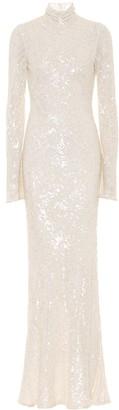 Galvan Blenheim sequined bridal gown