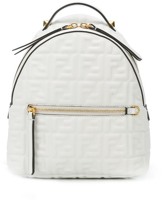 Fendi mini FF embossed backpack