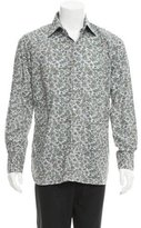 Tom Ford Paisley Print Button-Up Shirt