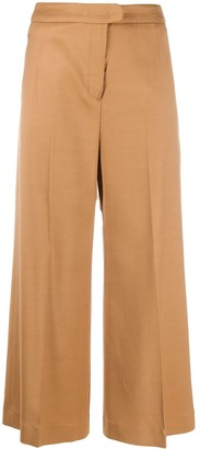 Pt01 Wide-Leg Cropped Trousers