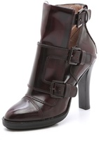 DKNY Leigh Monk Strap Booties