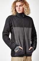 Burton Pierce Fleece Zip Black Snow Jacket