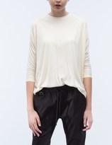 Publish Orrie Crop Sleeve Drap T-Shirt
