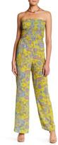 Charlie Jade Strapless Printed Jumpsuit
