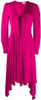 Alexander McQueen Asymmetric Draped Dress