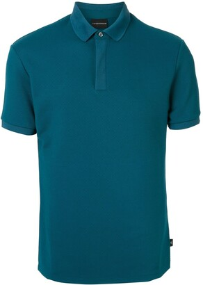 Emporio Armani Solid-Color Polo Shirt