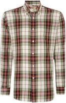 T.M.Lewin Men's Check Classic Fit Long Sleeve Button Down Shirt