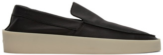 Fear Of God Black Leather Loafers