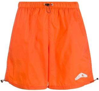 Heron Preston Ripstop branded swim shorts