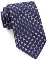 Tailorbyrd Sailboat Silk Tie