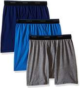 Hanes Men's FreshIQ ComfortBlend Boxer Brief 3-Pack