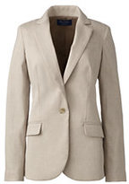 Lands' End Women's Wear to Work Blazer-Juniper Botanical