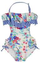 Jessica Simpson Girl's Floral One-Piece Monokini