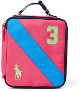 Ralph Lauren Banner-Stripe Medium Lunch Box