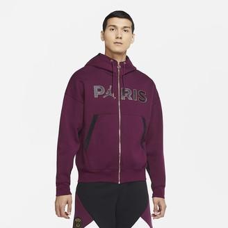 Nike Men's Full-Zip Travel Fleece Paris Saint-Germain