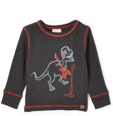Nano Steel & Red Rocking Dino Thermal Tee - Infant Toddler & Boys