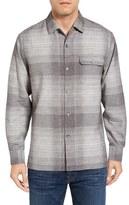 Tommy Bahama Orinoco Plaid Silk & Cotton Sport Shirt
