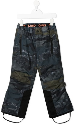 Molo Mountain Camo Ski Trousers