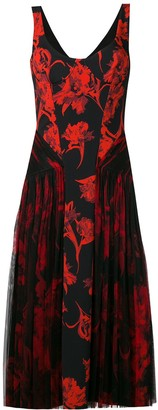 Roberto Cavalli floral print midi dress