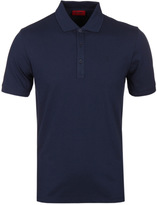 Hugo Nono Navy Pique Polo Shirt