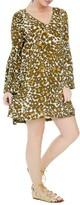 Plus Size Women's Elvi Animal Print Dress