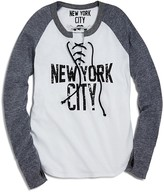 So Nikki... Girls' NYC Lace-Up Color Block Tee - Sizes S-XL