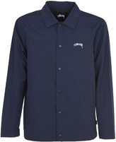 Stussy Blue Coach Jacket