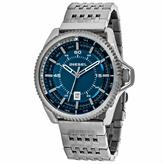 Diesel Timeframes DZ1753 Men's Gunmetal Stainless Steel Watch with Blue Dial