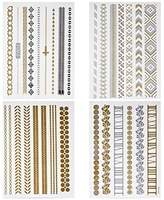 BMC Gorgeous Mixed Style Assortment of Temporary Water Transfer Tattoo Body Art