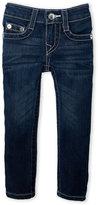 True Religion Toddler Girls) Big Stitch Skinny Jeans