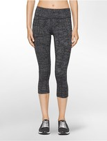 Calvin Klein Performance Crosshatch Cropped Leggings