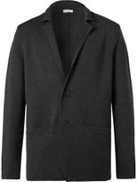 Sunspel - Charcoal Milano Merino Wool Blazer