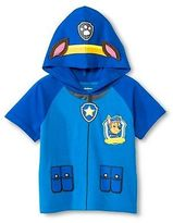 Paw Patrol Toddler Boys' Chase Hooded Costume T-Shirt - Blue