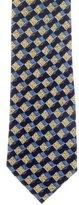 Ermenegildo Zegna Silk 3D Print Tie