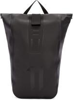11 By Boris Bidjan Saberi Black Roll-top Velocity Backpack