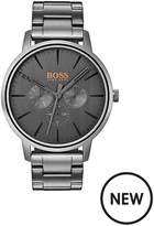 Hugo Boss Hugo Boss Orange Copenhagen Grey Dial Grey Stainless Steel Bracelet Mens Watch